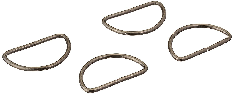 2-Inch Nickel 2 Count Dritz 117-2-65 D-Rings
