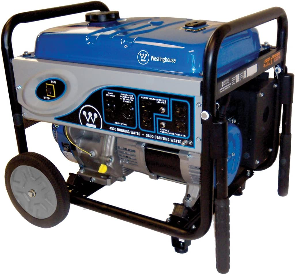 Westinghouse WH4500 5,600 Watt 292cc Gas Powered Portable Generator Discontinued by Manufacturer