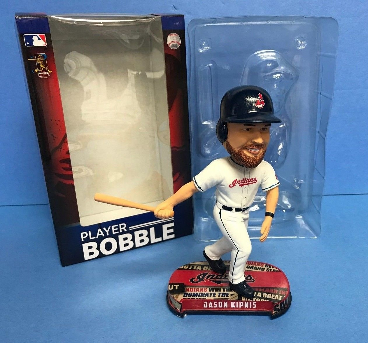 Jason Kipnis 2017 Cleveland Indians Limited Edition Bobble Bobblehead
