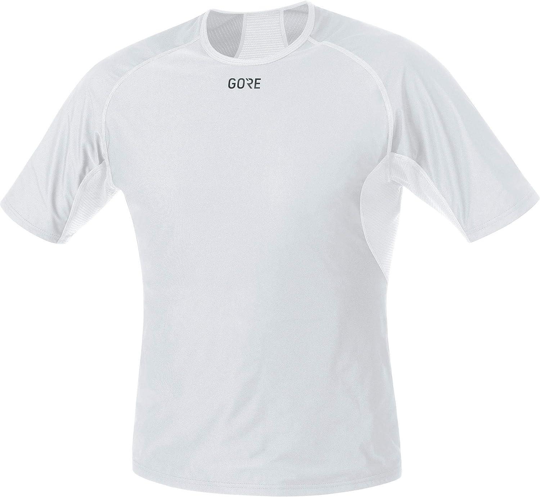 GORE WEAR, Hombre, Camiseta Interior Cortavientos de Manga Corta, Gore M Windstopper Base Layer Shirt, 100024