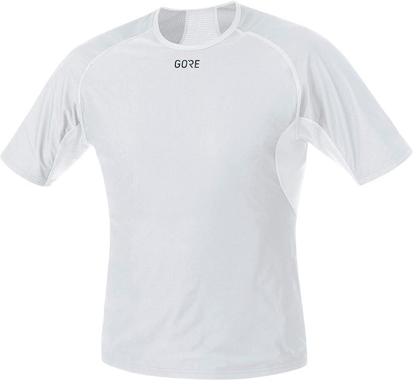 GORE Wear Camiseta interior cortavientos de hombre, M, Gris claro/Blanco, 100024: Amazon.es: Ropa y accesorios