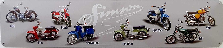 Vielesguenstig 2013 Schild Blechschild Strassenschild Simson Sr2 Star Spatz Schwalbe Habicht Sperber S50 S51 Küche Haushalt