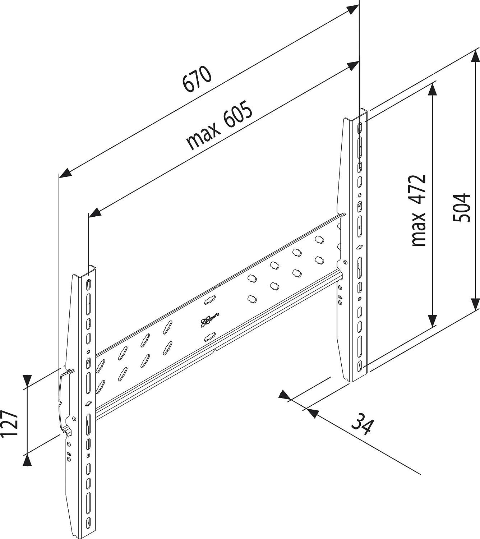 Supporti e mobili TV Sharp L77AACSWM5050F Supporti TV tipo Arredamento