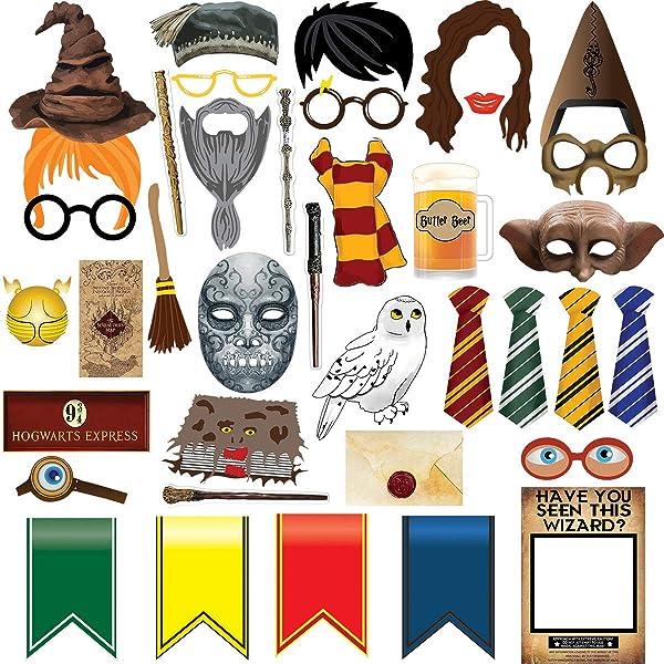 Amazon.com: Harry Potter – Pancarta de feliz cumpleaños para ...
