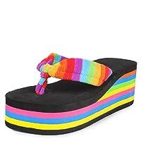 Do Bhai Women's Synthetic Flip Flops