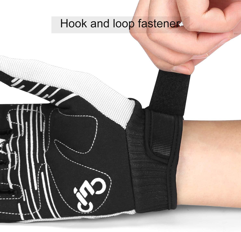 INBIKE MTB Cycling Gloves Mountain Bike Breathable Touchscreen Fingers Glove Mens