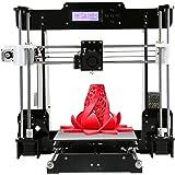 Anet A8 Upgrade 3D Printer Kits Reprap i3 with 8GB SD Card LCD Screen 220V UK Plug