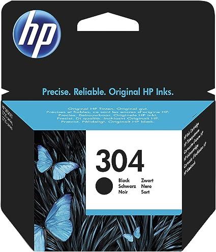 HP 304 Black Original Standard Capacity cartucho de tinta Negro 4 ...