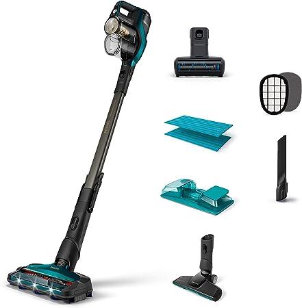 Philips SpeedPro MAX Aqua+ Aspirador inalámbrico con función de Limpieza, plástico, Azul: Amazon.es: Hogar