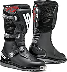 Sidi Discovery Rain Motorcycle Boots (43, Black)