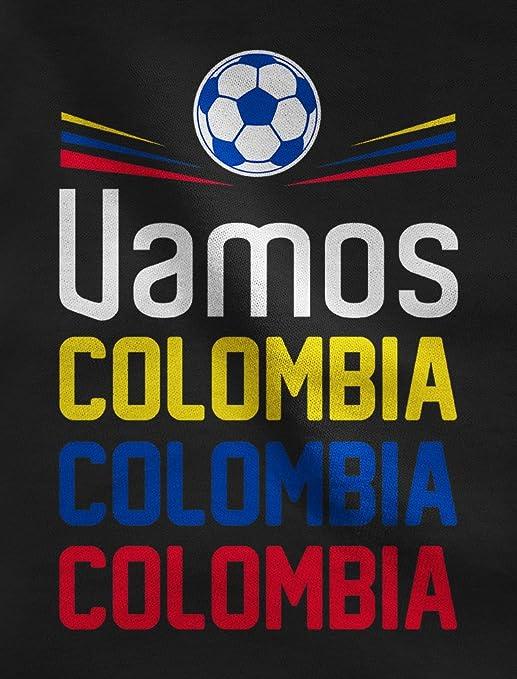 Green Turtle T-Shirts Camiseta para Mujer - Apoyemos a la Selección Colombia en el Mundial!: Amazon.es: Ropa y accesorios