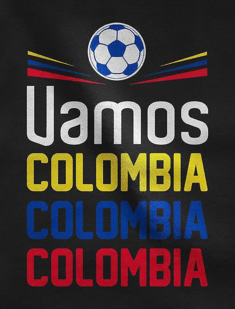Green Turtle T-Shirts Camiseta de Cuello V para Mujer - Apoyemos a la Selección Colombia en el Mundial!: Amazon.es: Ropa y accesorios