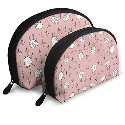533084c41bcf Amazon.com: JDISJLJ Makeup Bag for Women,Portable Shell Makeup ...