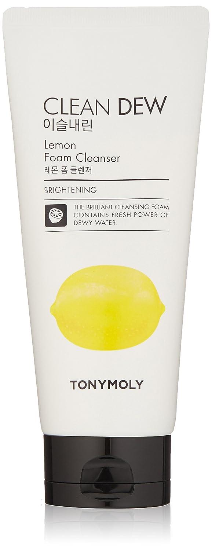 TONYMOLY Clean Dew Lemon Foam Cleanser, Lemon, 6 Fl Oz