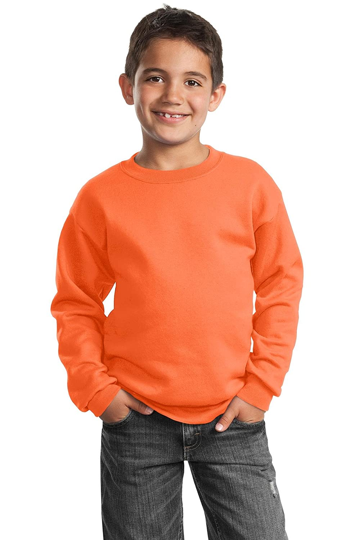 Port /& Company Boys Crewneck Sweatshirt