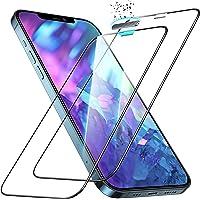 ESR Szkło hartowane pełne pokrycie ochraniacz ekranu kompatybilny z iPhone 12 Pro Max 9H Twardość folia ze szkła…