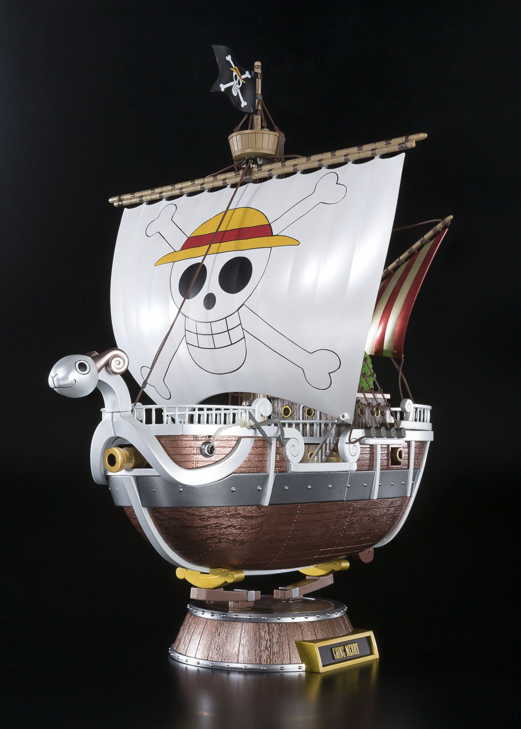 Cyogokin ONE Piece Going Merry ONE Piece 20th Anniversary ver Approximately 280 mm ABS /& Die Cast /& PVC Made Painted Movable Figure Bandai BDIOP192909