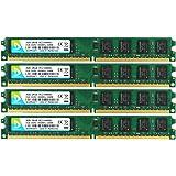 DUOMEIQI 8GB Kit(4X 2GB) 2RX8 DDR2 800MHz DIMM PC2-6300 PC2-6400 PC2-6400U CL6 1.8v 240 Pin Non-ECC Unbuffered Desktop Memory RAM Module Compatible with Intel AMD System