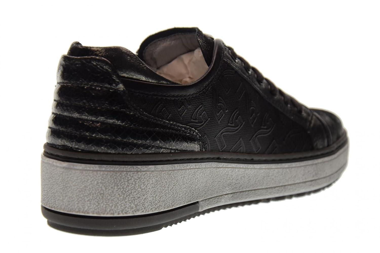 schwarz Giardini Schuhe Frauen Niedrige Turnschuhe A719581D 141 141 141 Steel f6ab44