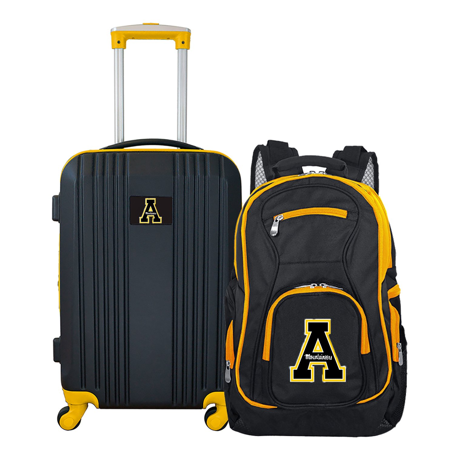 NCAA Appalachian State Mountaineers 2-Piece Luggage Set