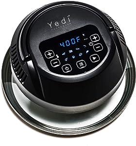 Yedi Total Package Air Fryer Lid for 3Qt, 5Qt, 6Qt, 8Qt, and 10Qt Electric Pressure Cookers.