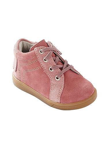 236380fcf2dcb Vertbaudet Boots Cuir Fille à Lacets  Amazon.fr  Chaussures et Sacs