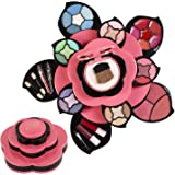 Makeup Kits for Teens - Flower Make Up Pallete Gift Set for Teen Girls and Women - Petals Expand to 3 Tiers -Variety Shade Ar