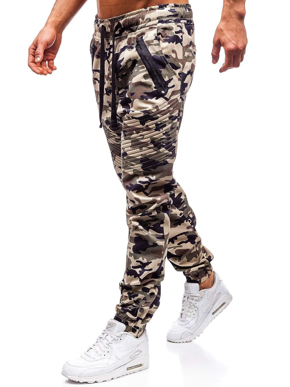 Jeans Denim Freizeithose Jogger Hose Clubwear Unifarben Herren BOLF 6F6 Sport