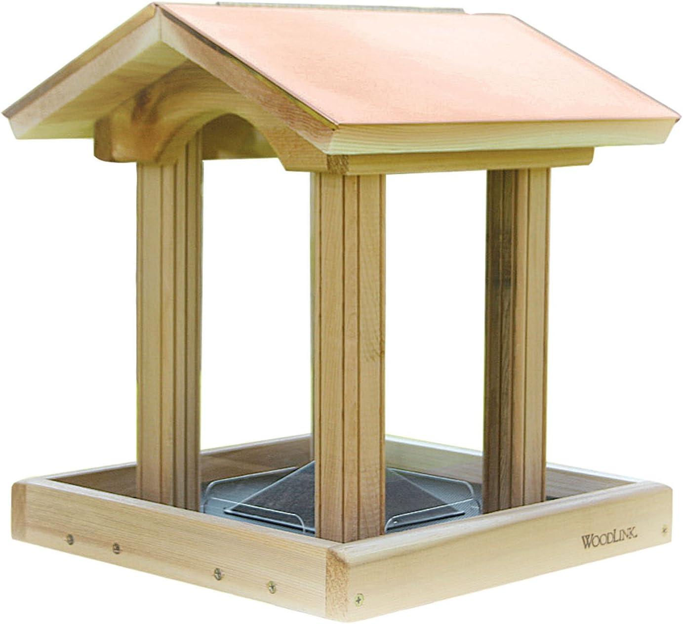 Woodlink Coppertop Hopper Bird Feeder