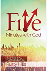 Five Minutes with God: Read, Think, & Pray 5 Minutes Each Day! (Volume 1) Paperback