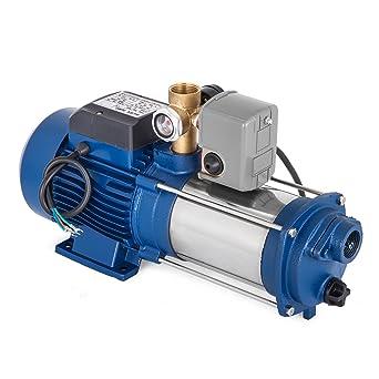 Bisujerro 1800W Bomba Centrífuga 150L/min Bomba de Agua Eléctrica Bomba Centrífuga Eléctrica JET Centrífuga para Casa, Jardín (con interruptor): Amazon.es: Industria, empresas y ciencia