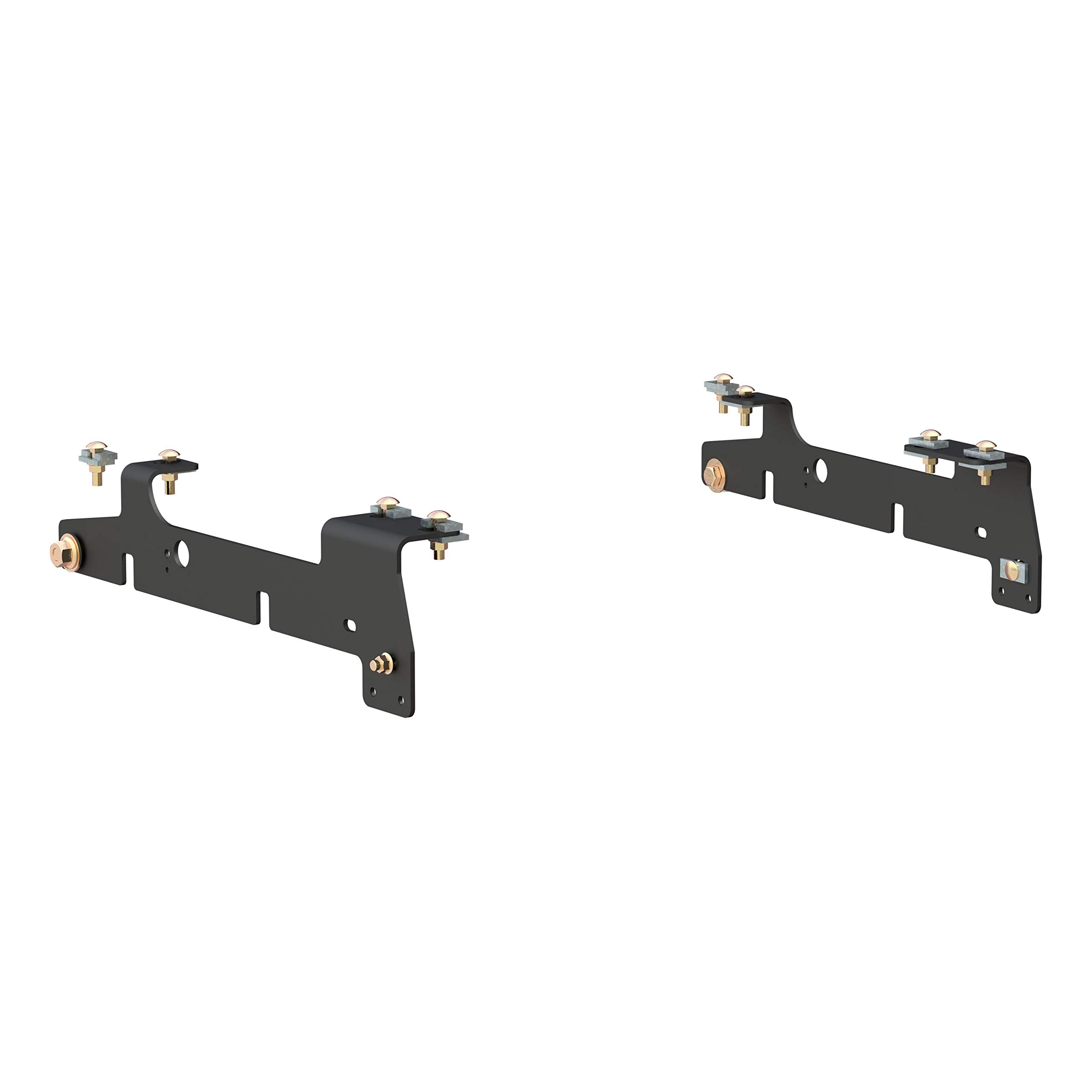 CURT 16437 5th Wheel Hitch Installation Brackets for Select Ford F-150, F-250 LD by CURT
