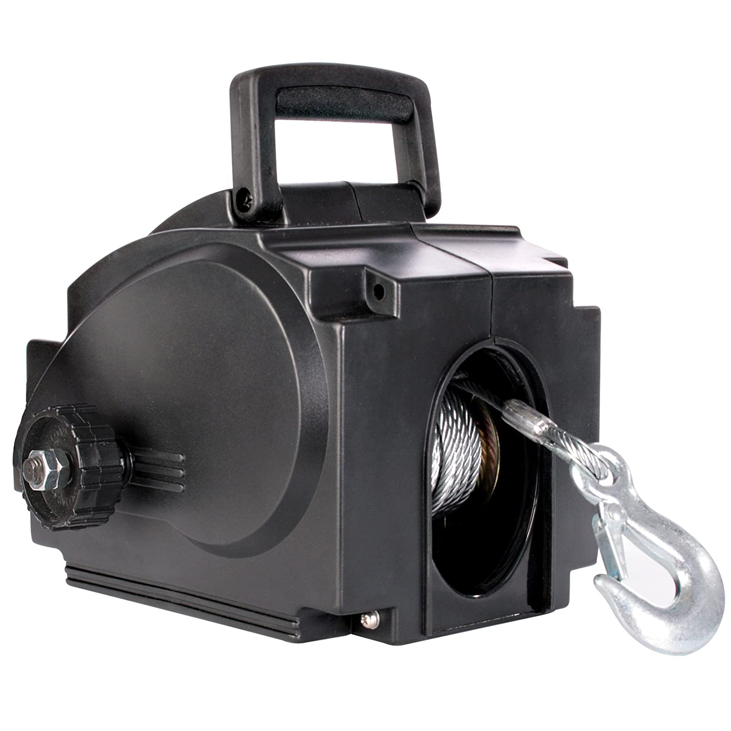 Electric Winch 900kg Capacity 12V Pulling Force 2000 lbs Timbertech®