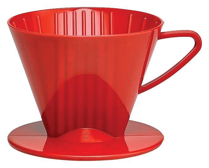 Plastic Coffee Maker Filter Cone #2 Medium Black Drip Coffee Machines at amazon