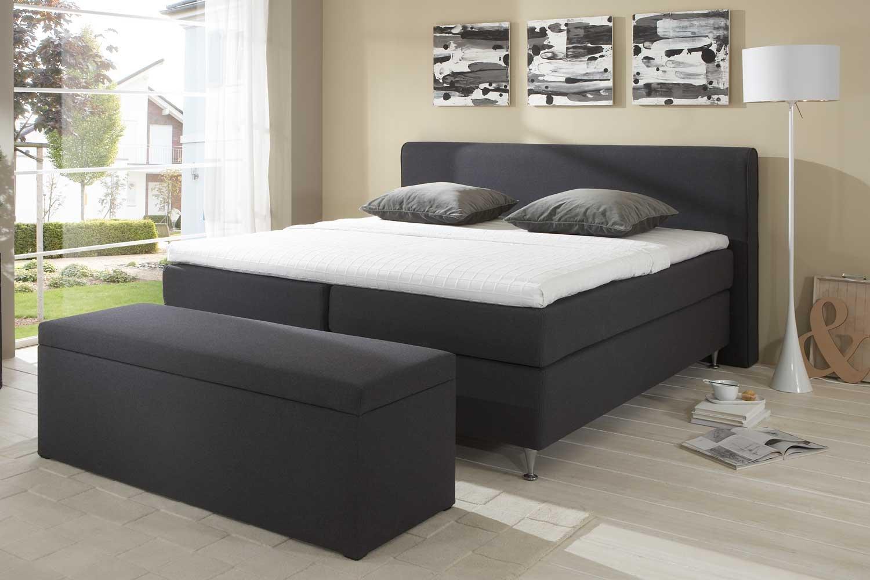 single boxspringbett cozy made in germany tonnentaschenfederkern in der box und in der 7 zonen. Black Bedroom Furniture Sets. Home Design Ideas