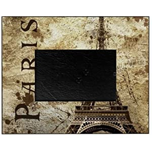 cafepress paris decorative 8x10 picture frame