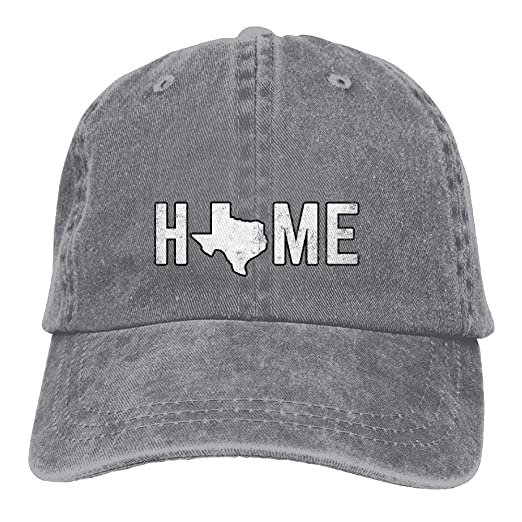 b49712c9 MDFY OEWGRF Unisex Washed Texas is Home Cool Denim Baseball Cap Adjustable Trucker  Hat at Amazon Men's Clothing store: