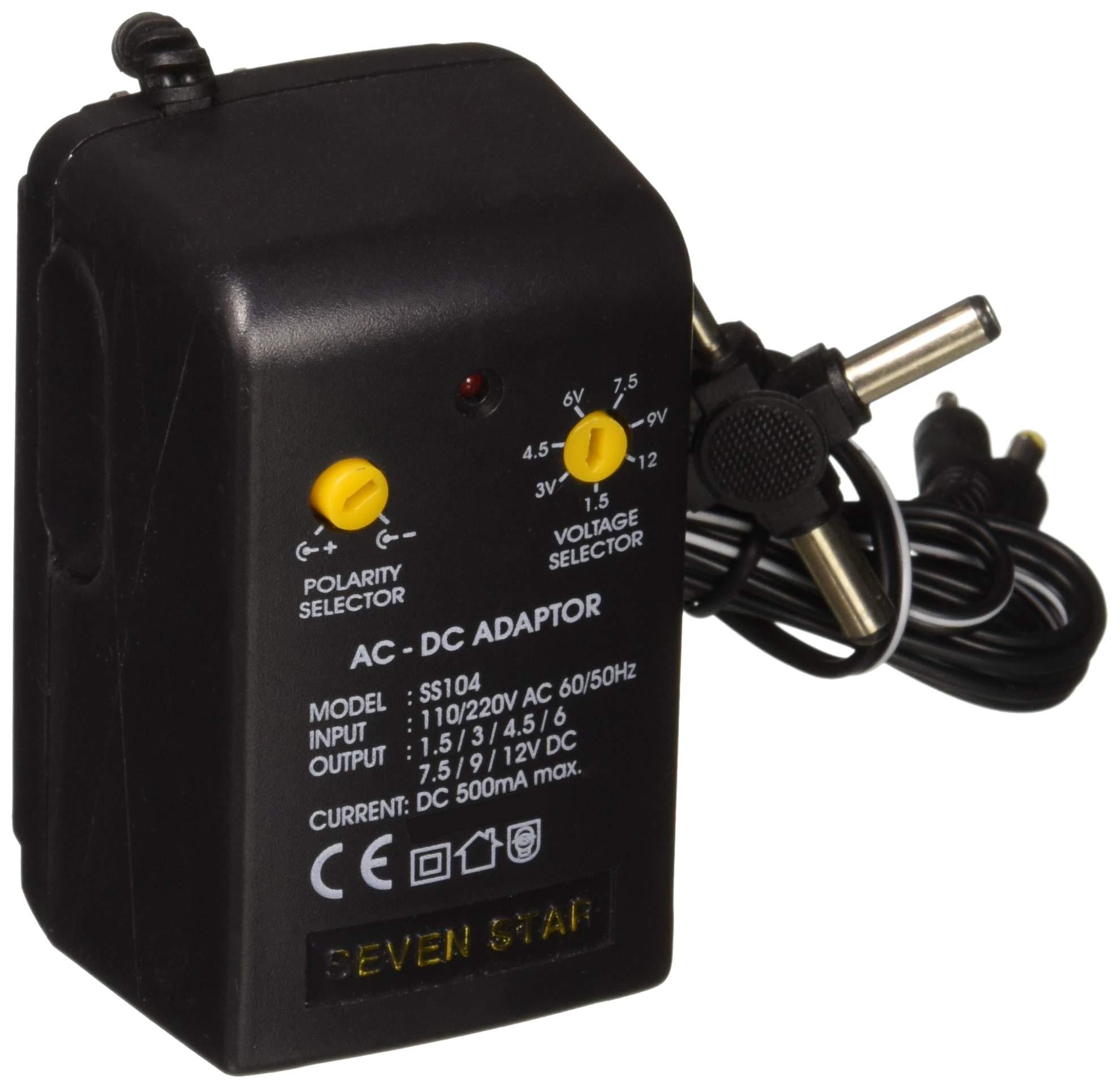 DC12V 1A Power Supply AC 120//240V 2.1mm Plug 3 Pack GOWOS