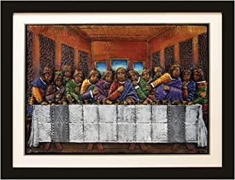 african american expressions last supper relief art by dd ike