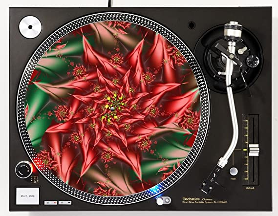 Amazon.com: Disco Slipmat de placa giratoria de DJ: Musical ...