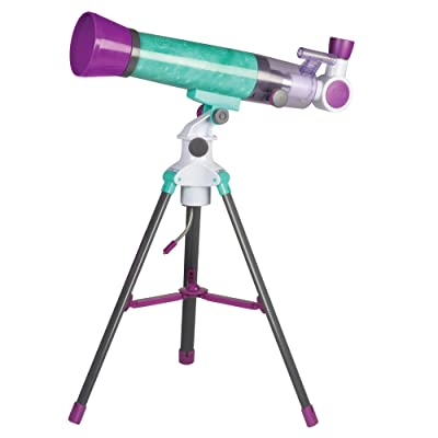 Educational Insights Nancy B's Science Club MoonScope, Telescope for Kids, Great to Explore Space, Moon, & Stars: Toys & Games