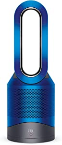 Dyson Pure Hot + Cool, HP02 - HEPA Air Purifier, Space Heater & Fan, WiFi-Enabled, For Large Rooms, Automatically Removes Allergens, Pollutants, Dust, Mold, VOCs, Blue