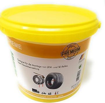 5 kg DWT-Germany 101298 Pasta para montaje de neum/áticos color amarillo
