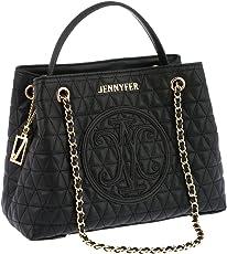 Jennyfer Bolsa Bolso Para Dama Color Negro 8239-1