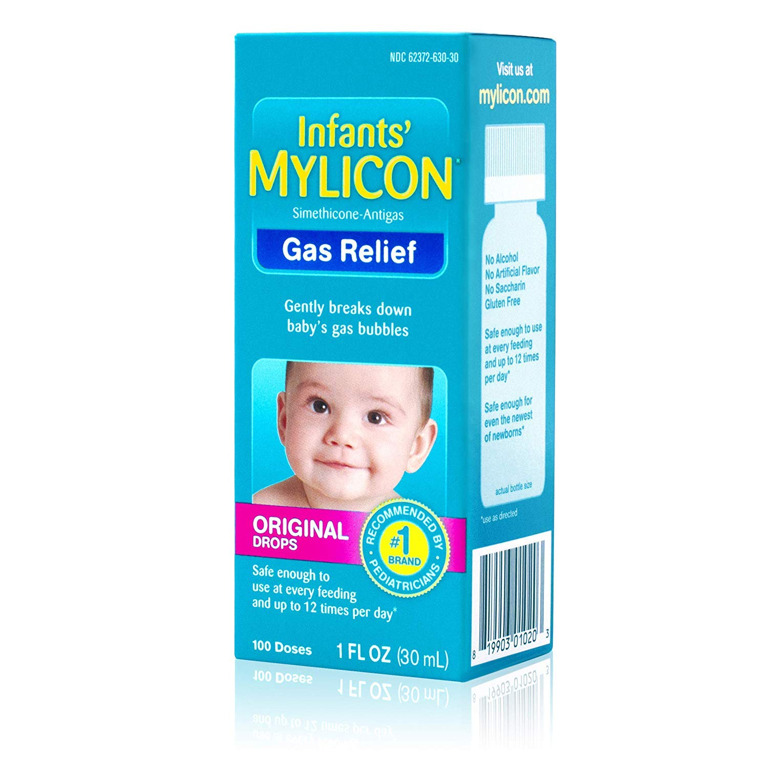Mylicon Infants' Gas Relief Original Drops - 1 oz, Pack of 3 by Mylicon