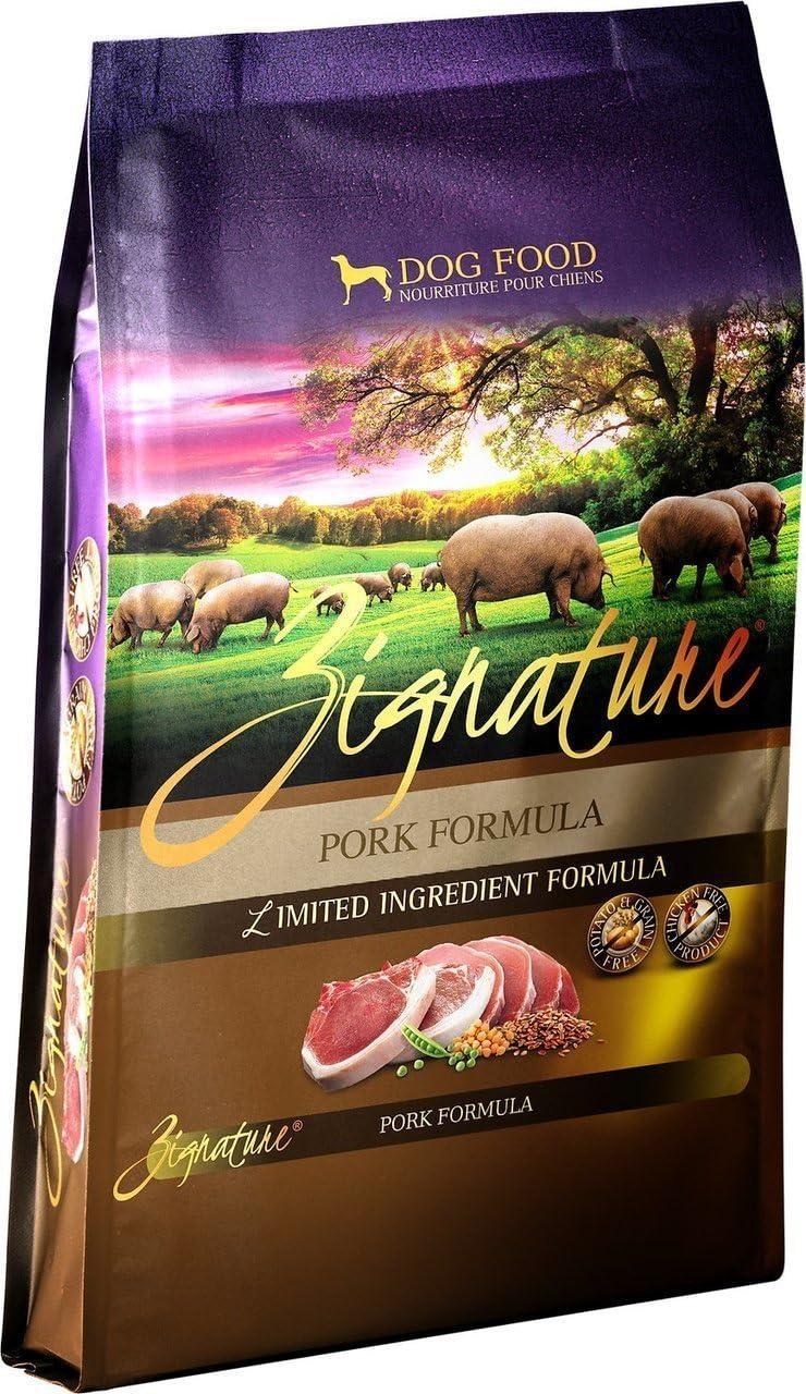 Zignature Pork Dry Dog Food