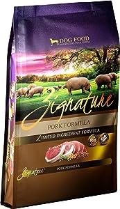 Zignature Pork Formula Dry Dog Food, 13.5 lb. High Protein Formula. Fast Delivery by Just Jak's Pet Market