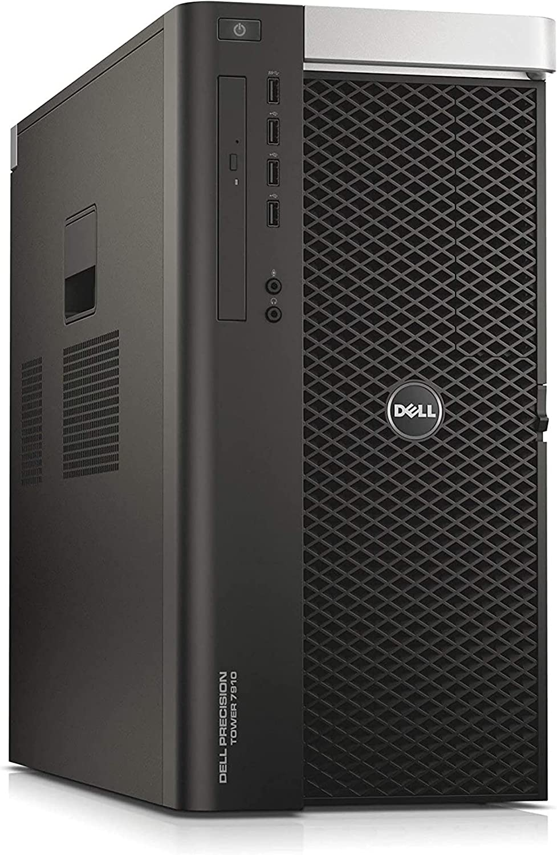 Dell Precision T7910 Workstation 2X Intel Xeon E5-2678 v3 2.5GHz (24-Cores) 128GB DDR4 Memory Quadro K2000 512GB SSD 1300W PSU, No Operating System (Renewed)