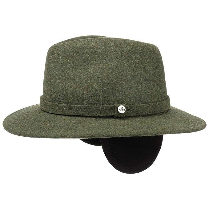 71f8ee46 Lierys Traveller Sombrero de Fieltro con Orejeras Hombre | Sombrero ...