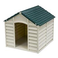 AVANTI TRENDSTORE Kennel - Cuccia per cani in Pvc per esterno, disponibile in 2 diversi colori, dimensioni LAP: 78x80x85 cm
